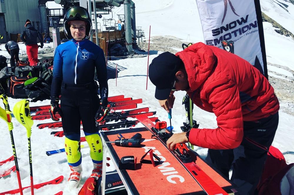Résultats des skis tests de juillet